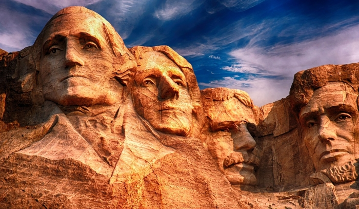 Expression to Carve in Stone / Mount Rushmore