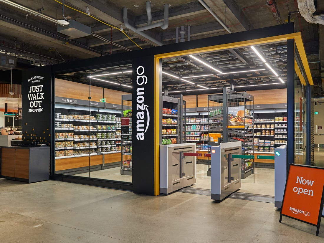 American Culture and History Amazon Go Store - Image from Business Insider
