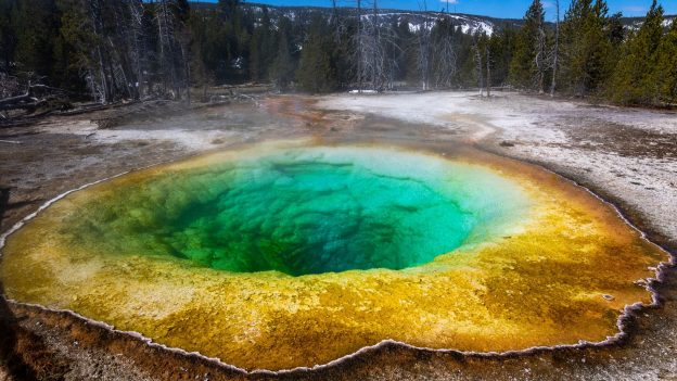 Take a Hike in Yellowstone National Park