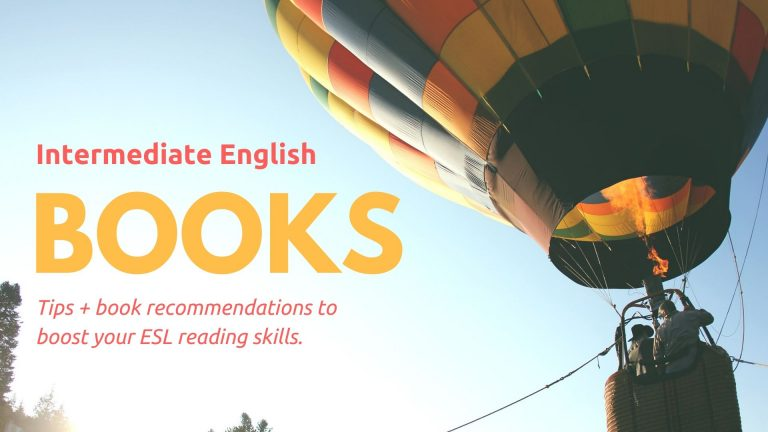 Book tips for Intermediate English Learners
