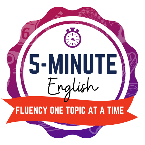 5-Minute English Course American English Podcast