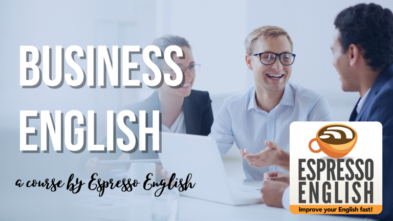 Business English A Course By Espresso English