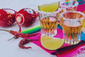 Bottoms Up and Cinco de Mayo